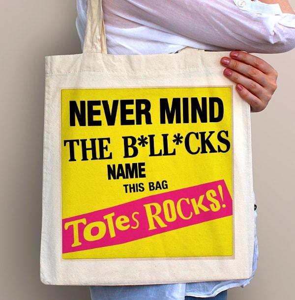Totes Rock Personalised Tote Bag