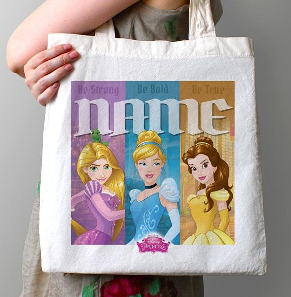 Disney Princesses Personalised Tote Bag