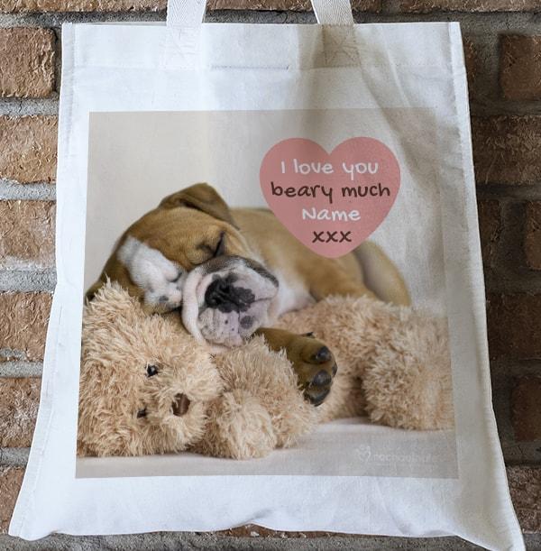Love You Beary Much Tote Bag -  Rachael Hale