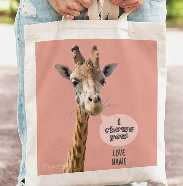 Giraffe Tote Bag - Rachael Hale