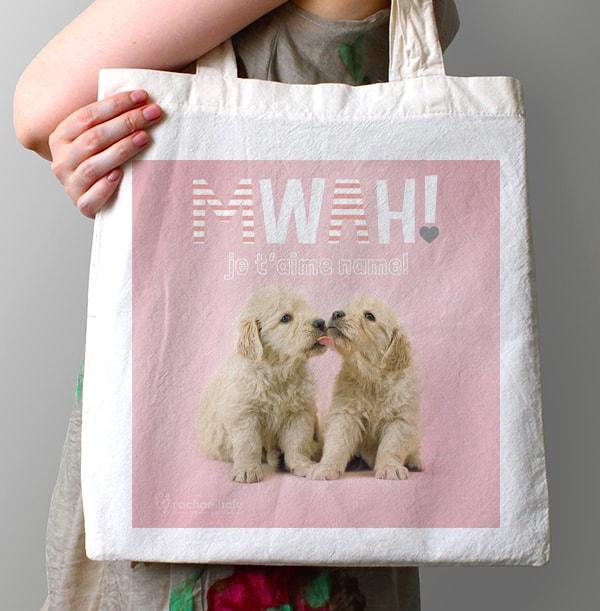 Cute Puppies Tote Bag - Rachael Hale