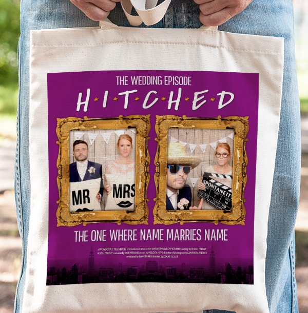 Hitched The Wedding Episode Photo Tote Bag