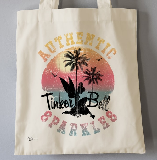 Tinker Bell Sparkles Personalised Tote Bag