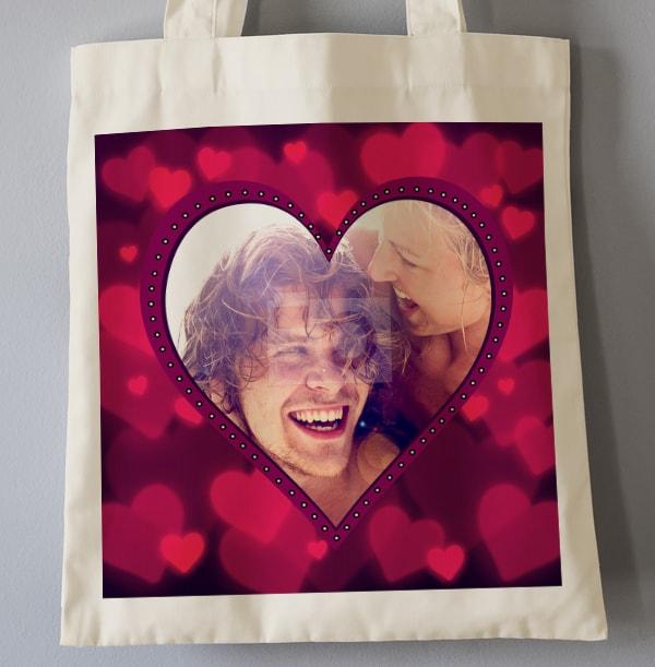 Rhapsody Heart Personalised Tote Bag