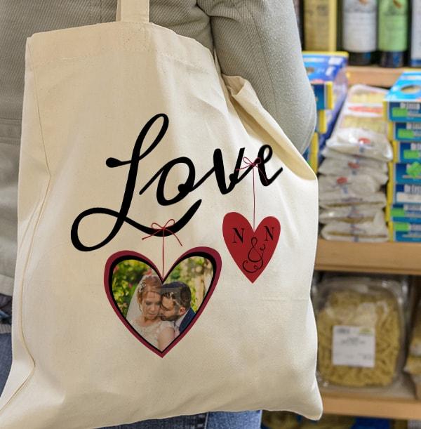 Rhapsody Love Personalised Tote Bag