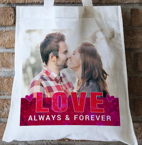 Love Photo Tote Bag