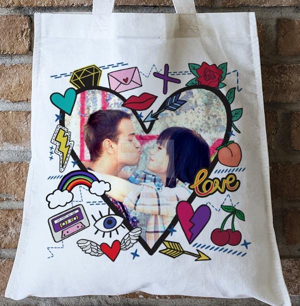 Just A Crush Photo Tote Bag
