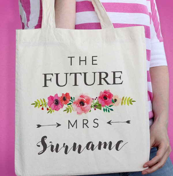 The Future Mrs Personalised Tote Bag