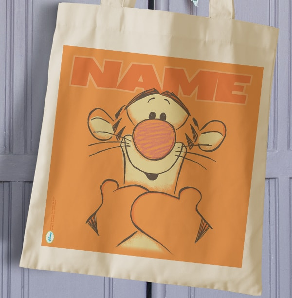 Tigger Personalised Tote Bag - Winnie the Pooh
