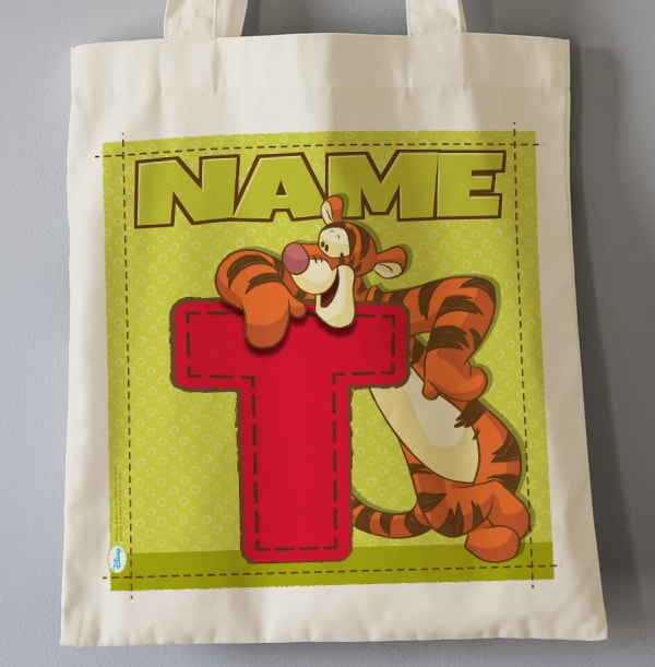T is for Tigger Tote Bag - Winnie the Pooh