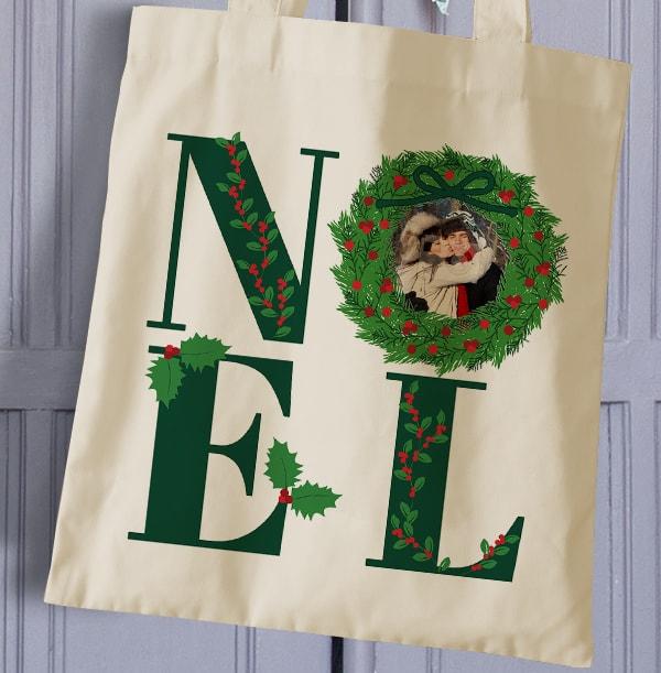 Noel Photo Tote Bag