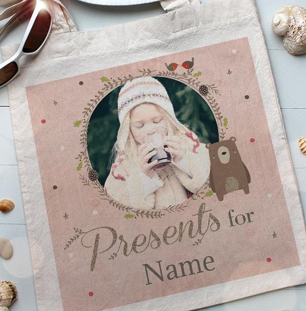 Christmas Presents Photo Tote Bag