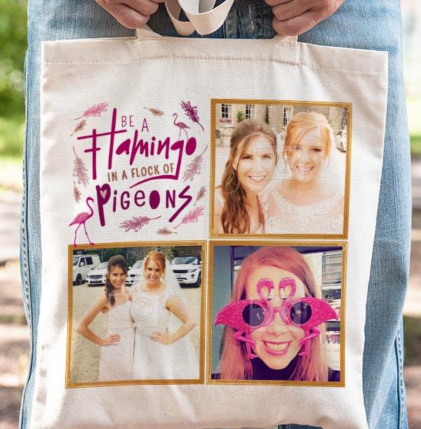 Be A Flamingo Photo Tote Bag