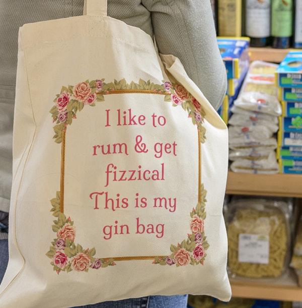 Rum & Get Fizzical Tote Bag
