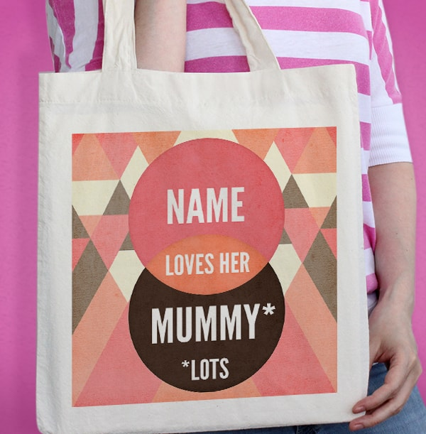 Graphic Tote Bag for Mummy