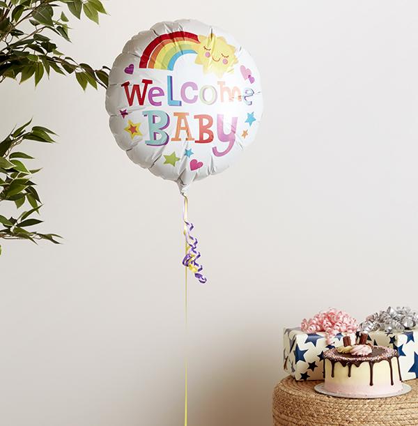 Welcome Baby Sunshine Balloon