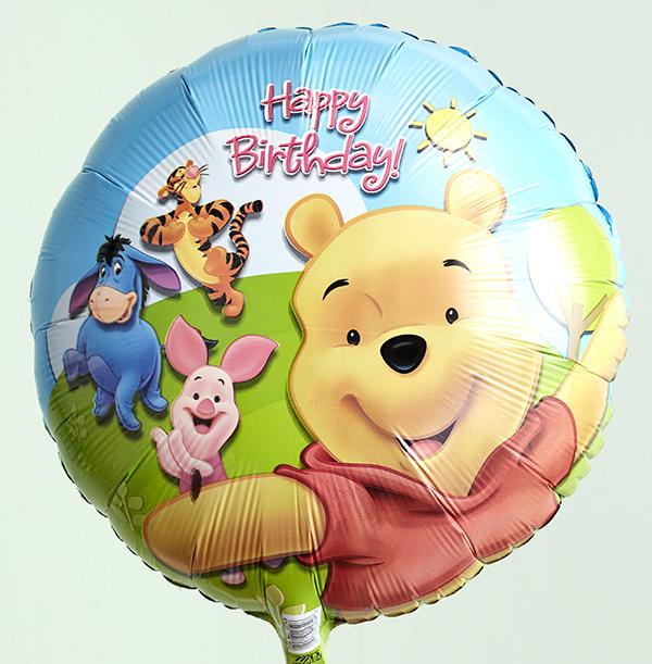 Winnie the Pooh Birthday Balloon