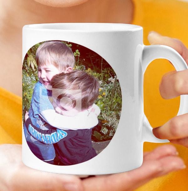 Mother Of Boys Photo Mug