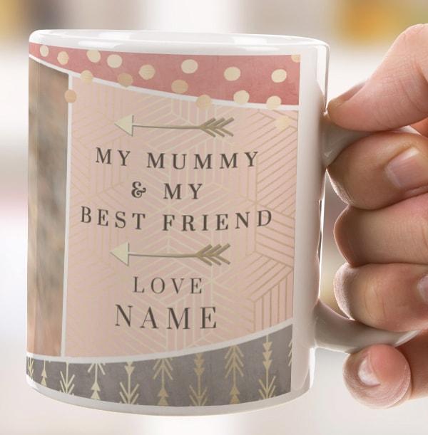 Mummy & Best Friend Photo Mug
