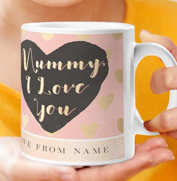 Mummy I Love You Personalised Mug