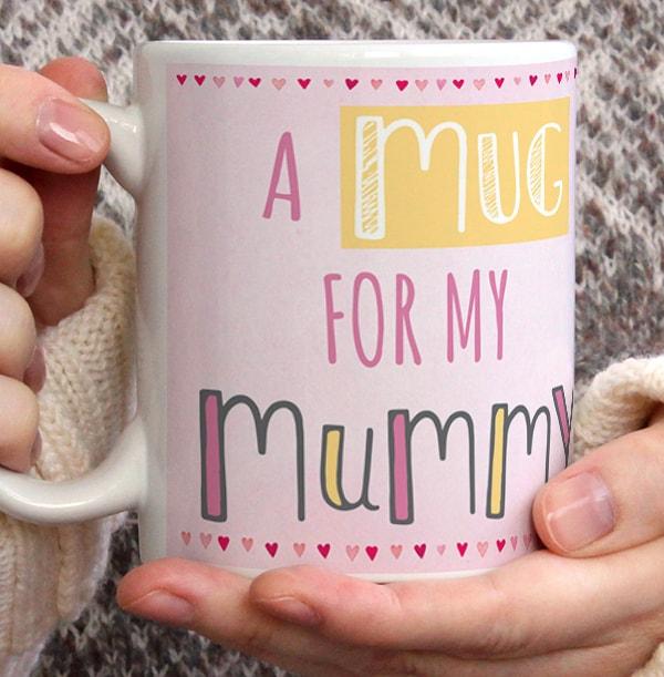 Mummy Barley Bear Personalised Mug