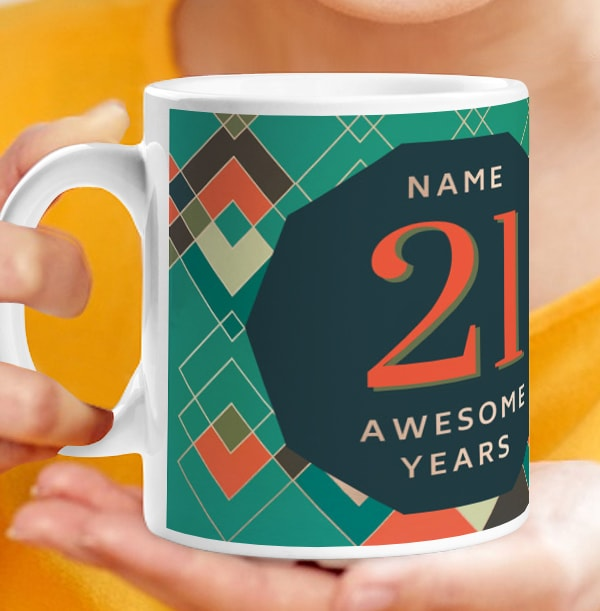 21 Awesome Male Photo Mug