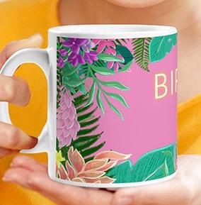 Birthday Babe Personalised Mug