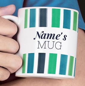 Name's Personalised Mug With Design