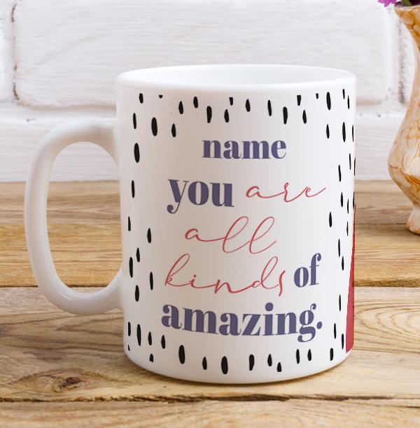 All Kinds of Amazing Personalised Birthday Mug