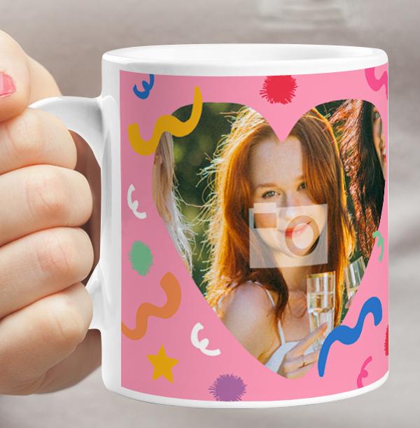 Amazing Daughter Photo Birthday Mug