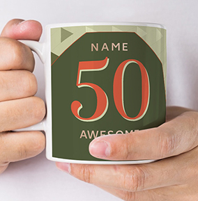 50 Awesome Years Photo Mug