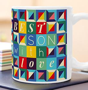 Best Son Photo Upload Mug