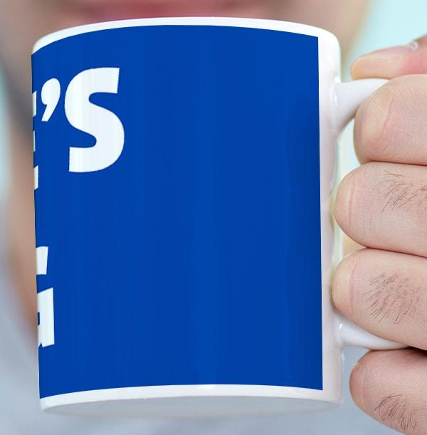 Personalised Name Mug - Blue