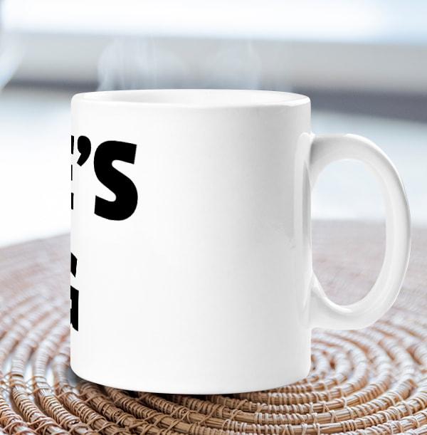 Personalised Name Mug - White