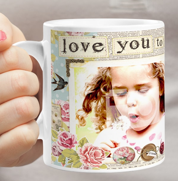 Love You to the Moon Personalised Mug