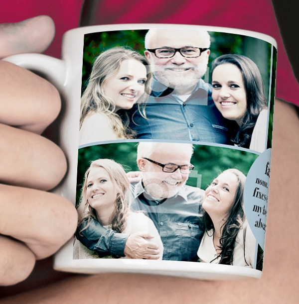 Definition of a Father Personalised Mug