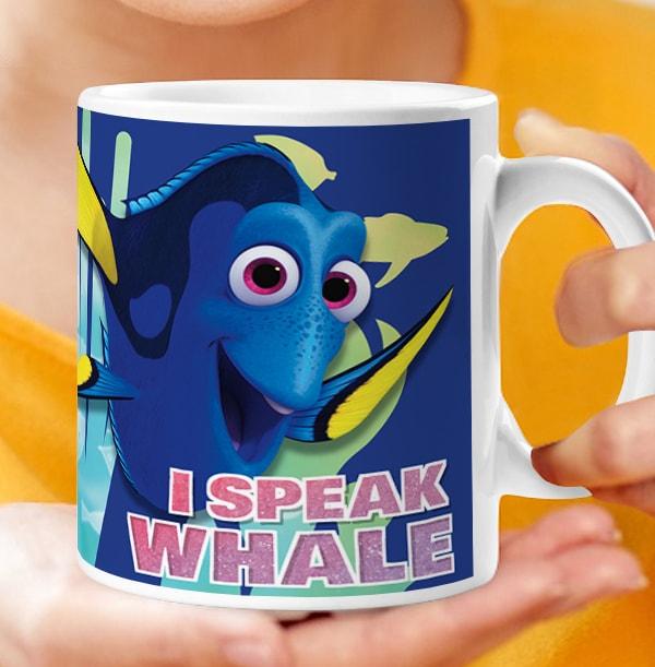 Finding Dory I Speak Whale Photo Mug
