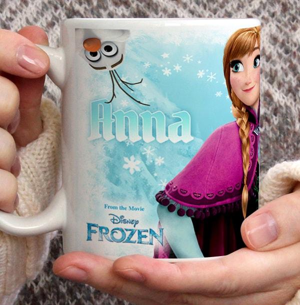 Anna Frozen Personalised Mug