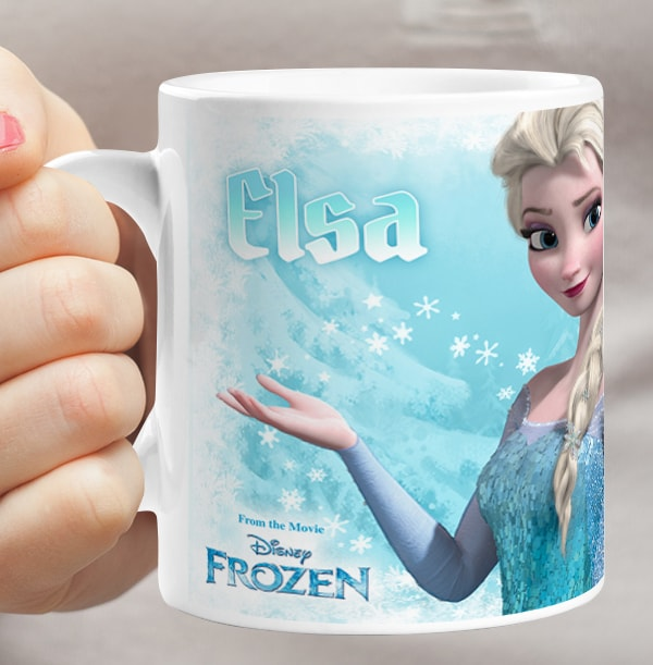 Elsa Frozen Personalised Mug
