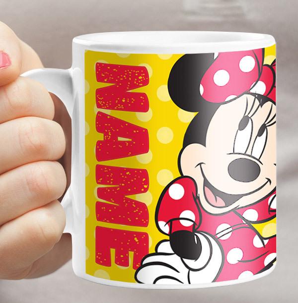 Personalised Minnie Mouse Mug