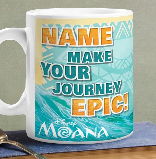 Moana Group Personalised Mug - Epic Journey