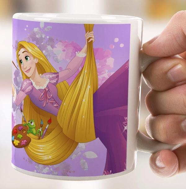Rapunzel Personalised Mug