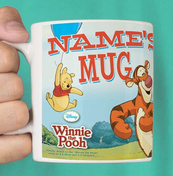 Winnie the Pooh & Friends Mug - Photo Upload