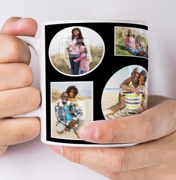 9 Multi Photo Upload Personalised Mug - Essentials