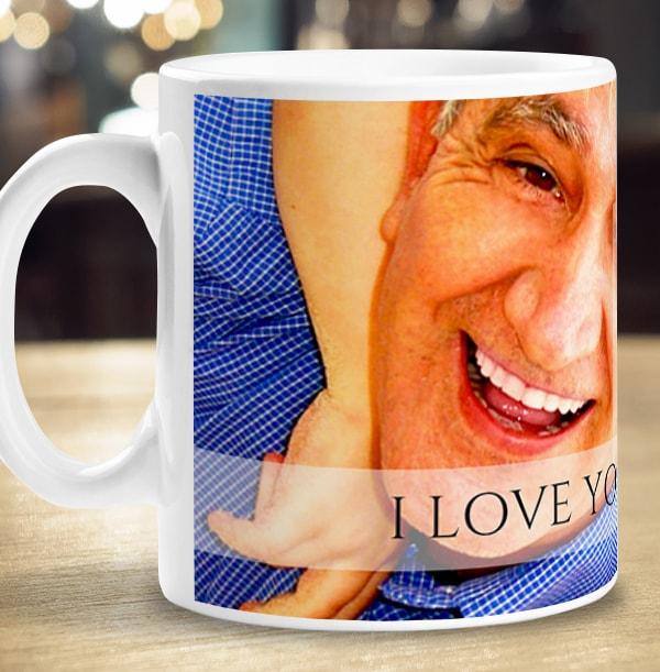 Personalised Full Photo Upload Grandad Mug
