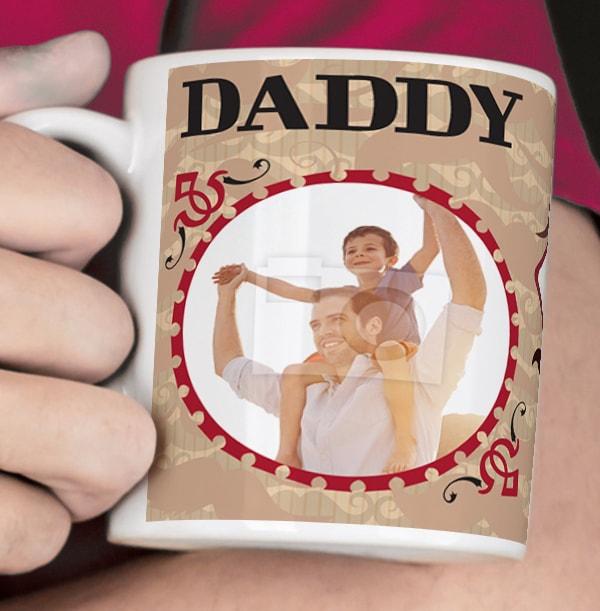 Daddy You Old Bean Personalised Mug