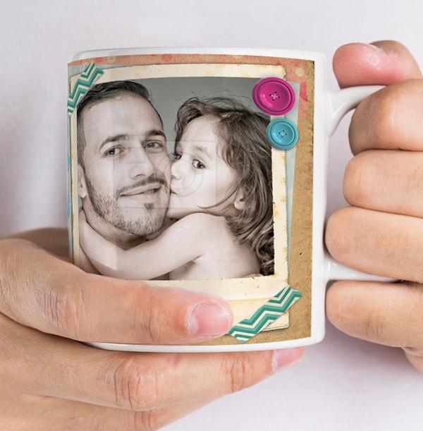 Daddy's Little Girl Personalised Mug