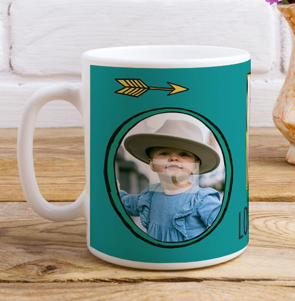 Love You Daddy Multi Photo Mug