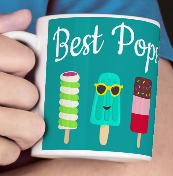 Best Pops Personalised Mug