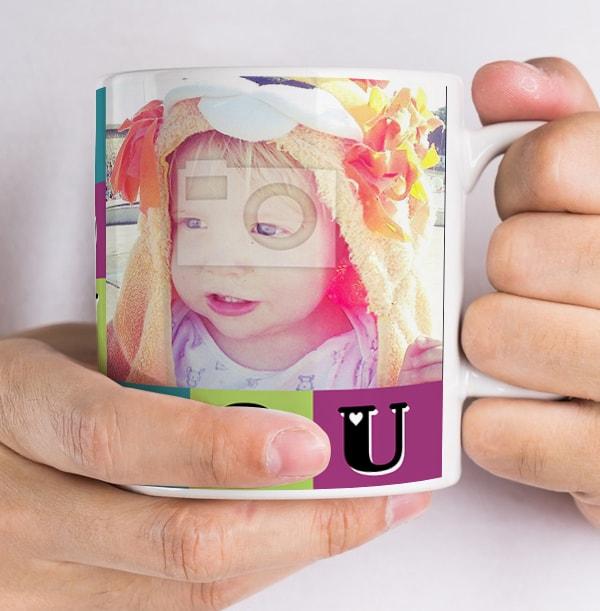 Love You Daddy Personalised Photo Mug